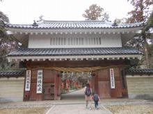 油山寺の門
